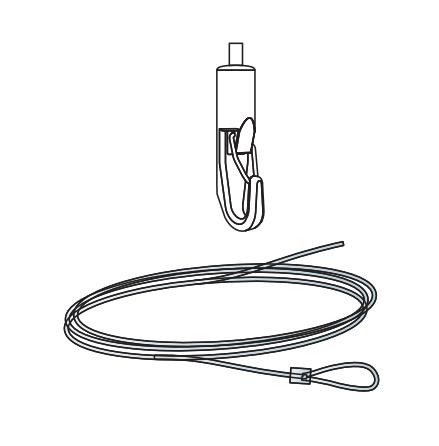 Connect Wireupphängning Ink Wirelås